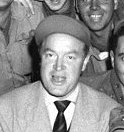 Bob Hope - entertained troops in Swindon