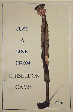 Chiseldon Camp postcard