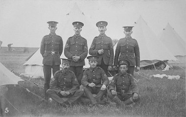 Chiseldon Camp Swindon - early soldiers