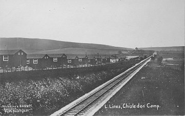 Chiseldon Camp Swindon railway line