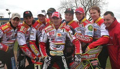 The official speedway team 2008