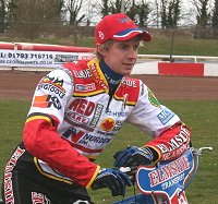 James Wright Swindon Speedway