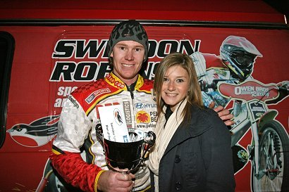Travis McGowan - SwindonWeb Rider of the Night