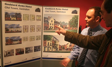 Goddaed Arms Swindon Plans
