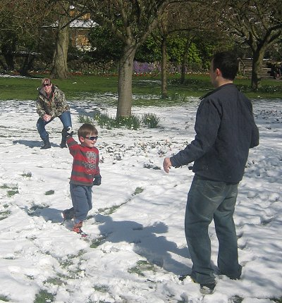 Swindon snow 2008
