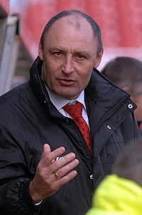 Swindon Town manager Maurice Malpas
