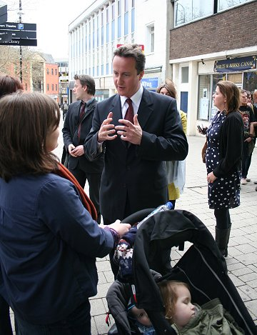 David Cameron in Swindon