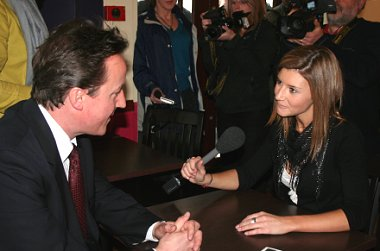 David Cameron interviewed by Kirsty Heber-Smith