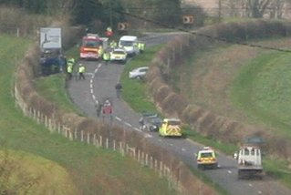 Freke Arms crash