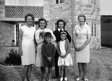 The Burden Family in 1966