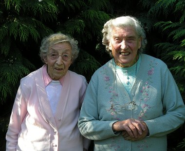 Joyce and Sybil Burden, Swindon