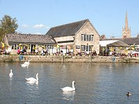 Riverside Lechlade near Swindon