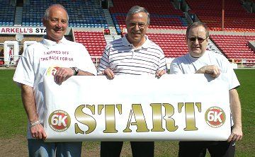 Swindon Town legend kick-starts Operation 6K at the County Ground in Swindon