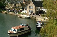 The Riverside pub in Lechlade