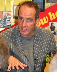 Kevin McCloud in Swindon