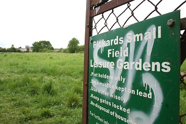 Pickards Field in Swindon
