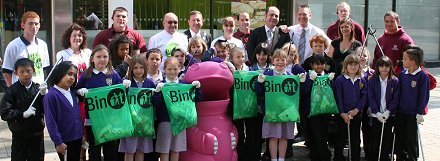 Just Bin It campaign inSwindon