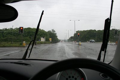 Rainy Swindon 26 May 2008