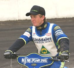 Richard Sweetman the latest signing for Swindon Speedway