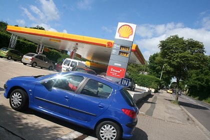 Shell garages swindon