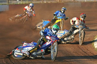 Swindon v Poole in the Knockout Cup Quarter Final Second Leg