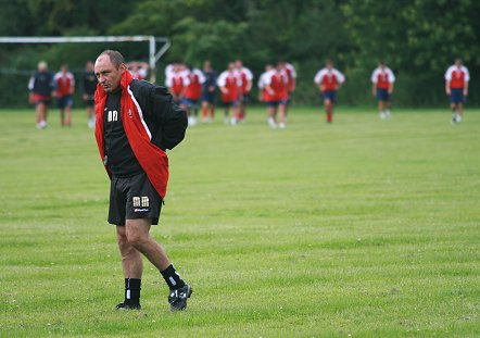 STFC pre-season training June 2008