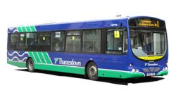 Thamesdown bus service for Royal International Air Tattoo
