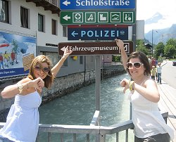 Mel Turner-Wright and Kirsty Heber-Smith in Austria