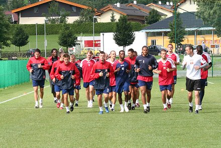 Swindon Town Football Club in Austria pre season