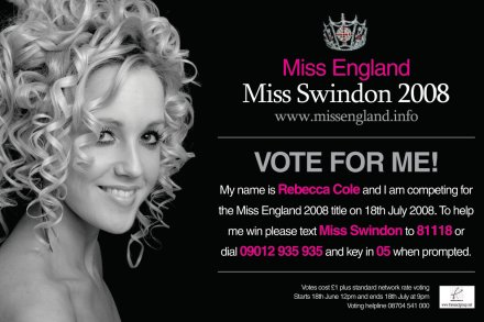 Miss Swindon 2008