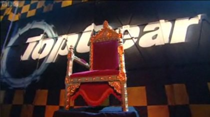 Top Gear Throne of Gratitude