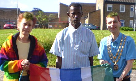 Highworth residents raise money for nursery school in Gambia