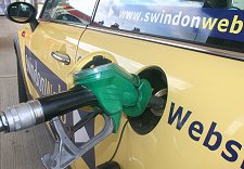 Petrol prices soar in Swindon
