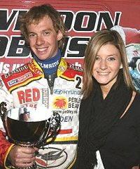 Swindon Robins Speedway star James Wright awarded man of the match
