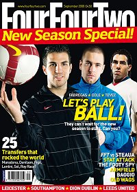 FourFourTwo magazine in partnership with Swindon Town Football Club
