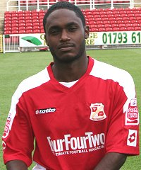 Swindon Town's Anthony McNamee