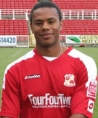 Swindon Town's Jerel Ifel