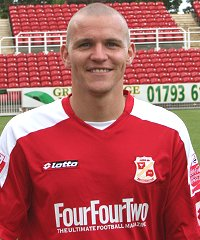 Swindon Town's Jon-Paul McGovern