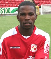 Swindon Town's Mark Marshall