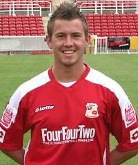 Swindon Town's Simon Cox