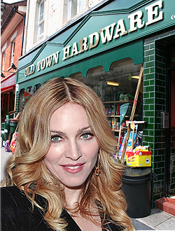 Madonna in Swindon