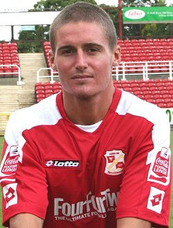 Barry Corr Swindon Striker