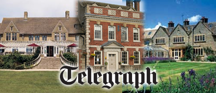 Three Swindon hotels feature in the Telegraph
