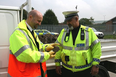 Police checks to see if vehicles are road worthy