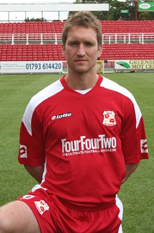 Jamie Vincent Swindon Town Football Club