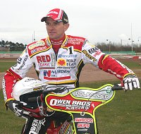 Swindon Speedway star Leigh Adams