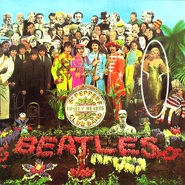 Sgt. Peppers Album featuring Swindon's Diana Dors