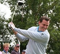 Swindon golf hero David Howell