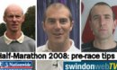 Top three tips for the Swindon Half-Marathon