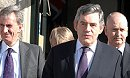 Gordon Brown feels the heat in Swindon